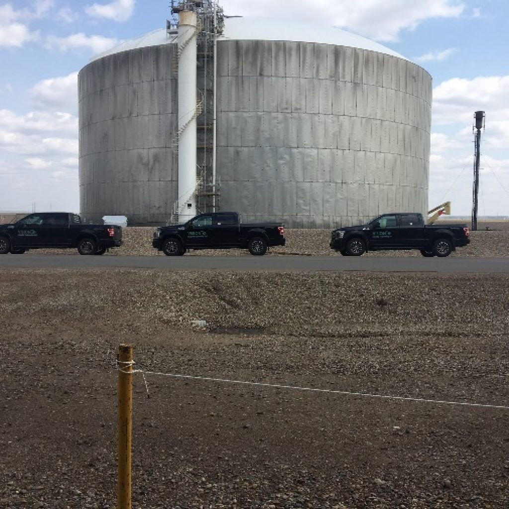 Ammonia Storage Tank Inspection