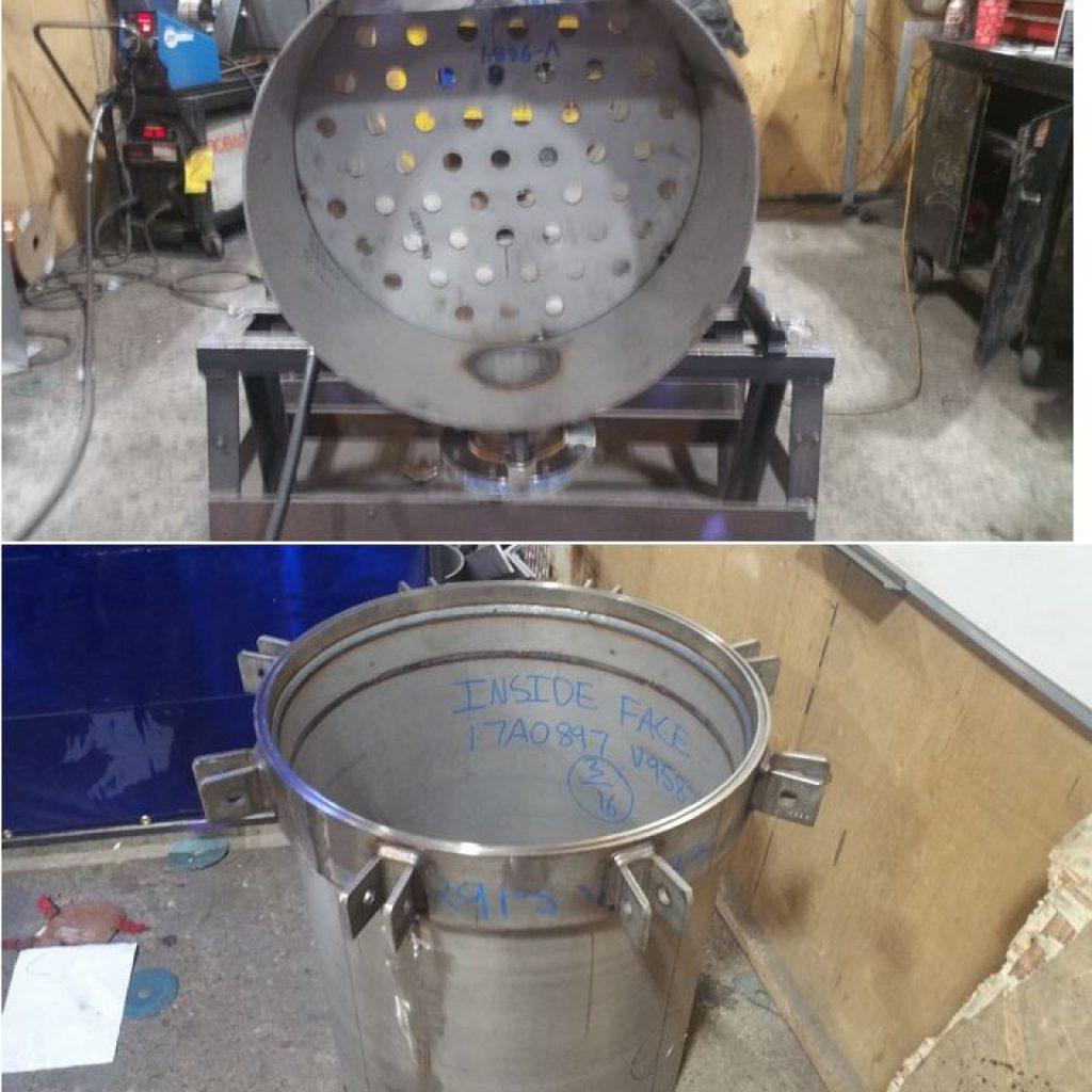Saskatchewan Gas Plant Equipment Fabrication